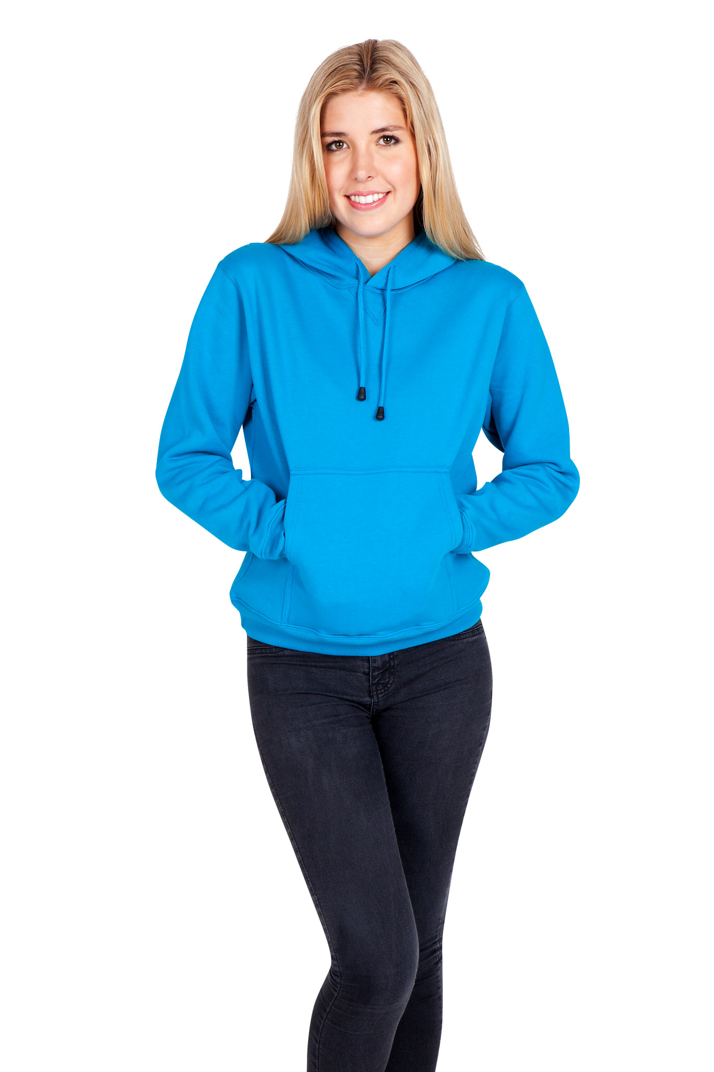 3d26599a41477 Ladies Juniors Kangaroo Pocket Hoodies - Ramo